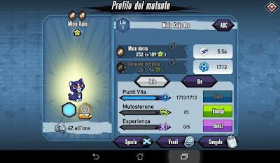 Mutants: Genetic Gladiators Breeding video N°107 (Kaiju Kitty - Beast)