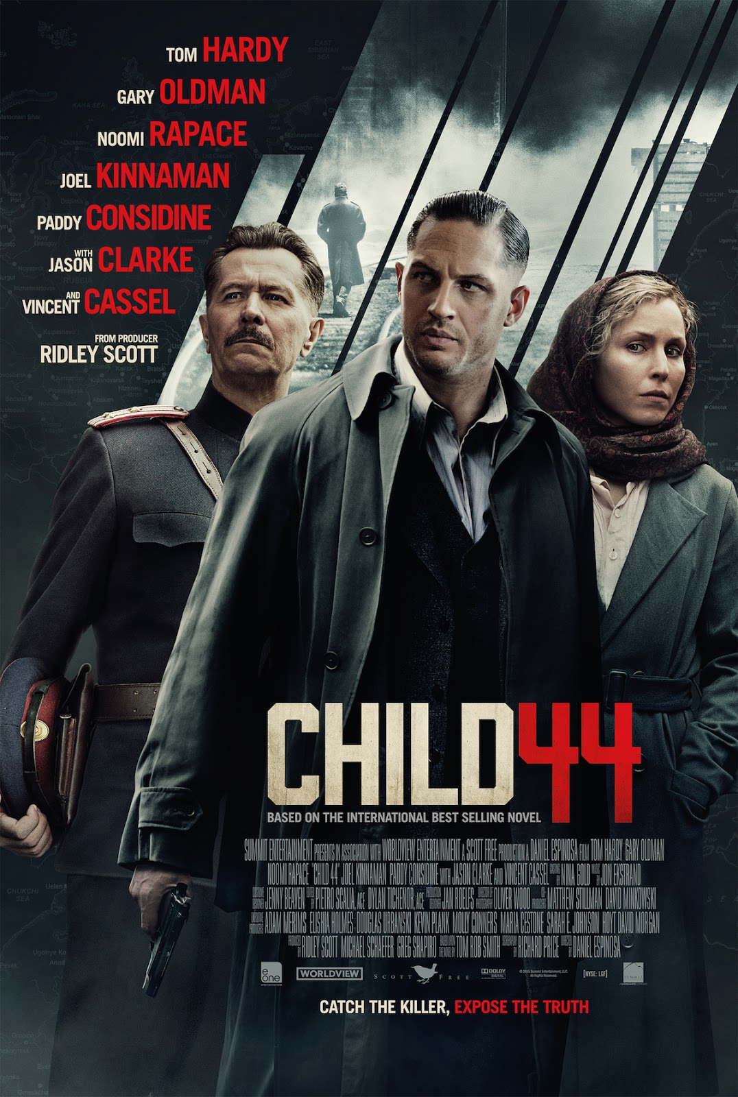 HollywoodCiak: Film 1017 - Child 44 - Il bambino n. 44