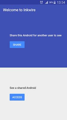 ـ تطبيق Inkwire Screen Share   Assist و ما الذي يقدمه لك ؟ Screenshot_2016-10-0