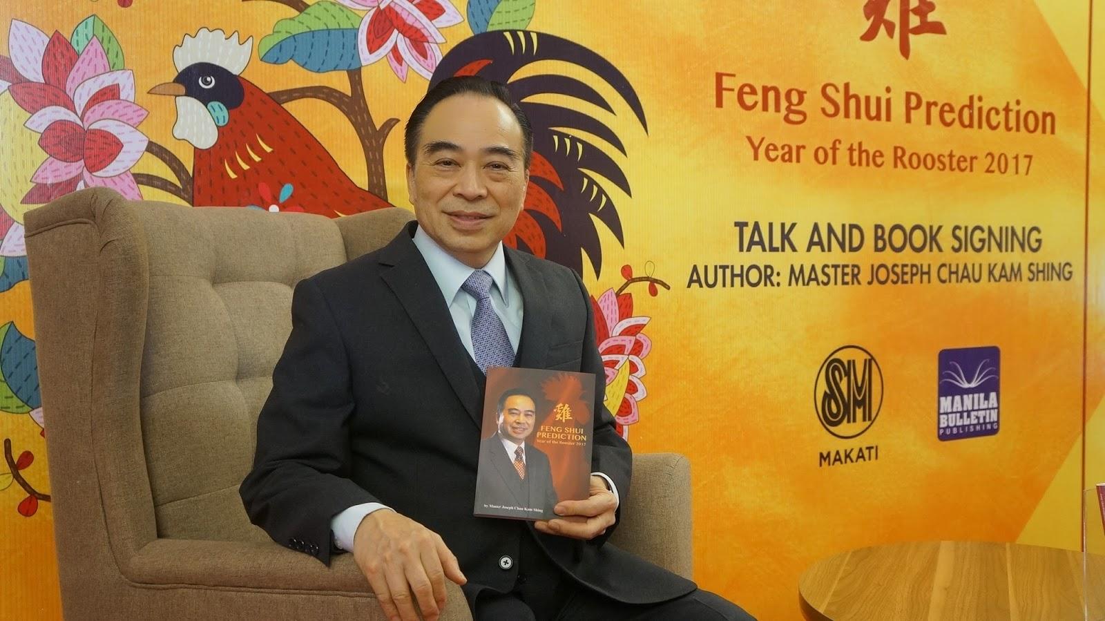 Feng Shui Master master joseph chau kam shing and his feng shui predictions wazzup