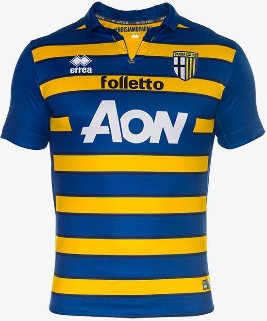 048626204290a Errea apresenta as novas camisas do Parma - Show de Camisas