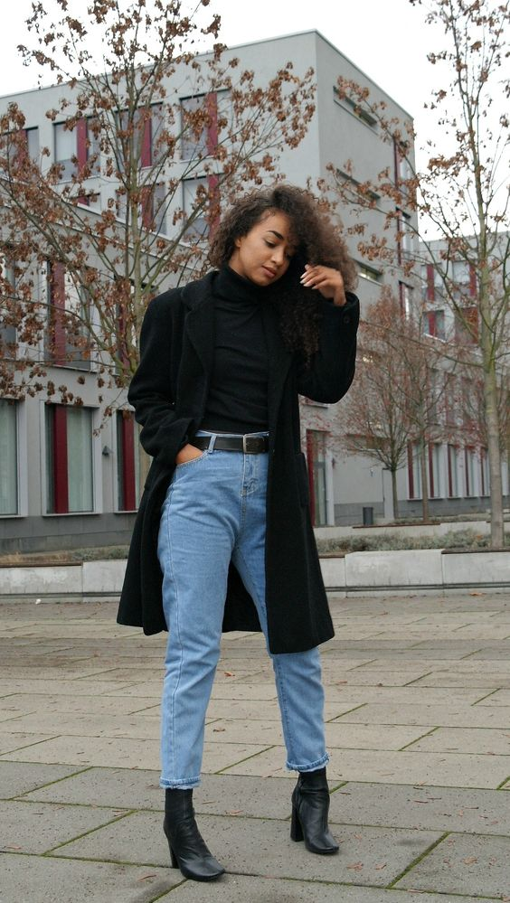 Resultado de imagem para look mom jeans