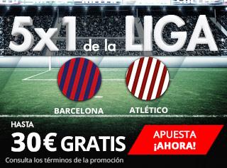 suertia promocion Barcelona vs Atletico 4 marzo