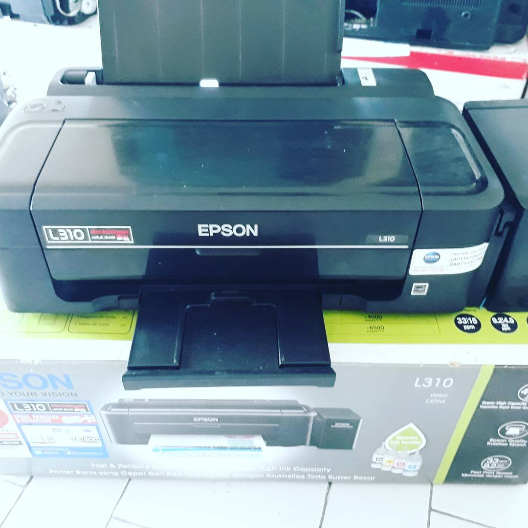 Printer Epson L310 Modif Sistem Infus Pabrikan
