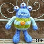 patron gratis extraterrestre amigurumi, free amigurumi pattern alien