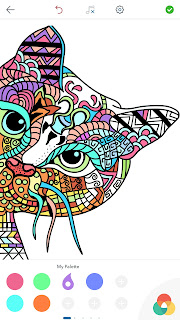 Cat Coloring Pages For Adults Playgoogle Store Apps Dbooksforadults