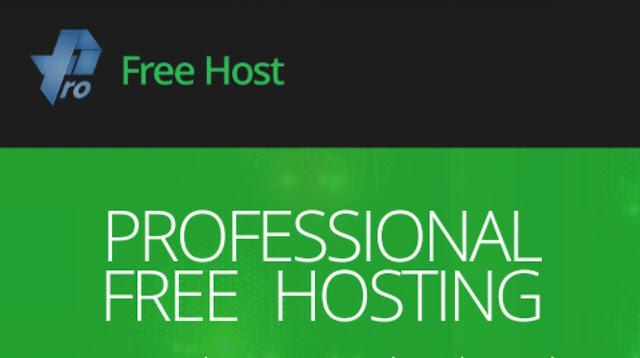 Pro free hosting