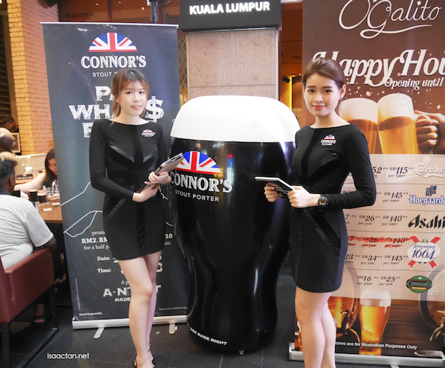 Connor's Stout Porter 'A Night Made Right' Launch @ Pavilion Kuala Lumpur
