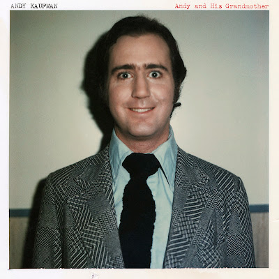Cover from new Andy Kaufman release titled