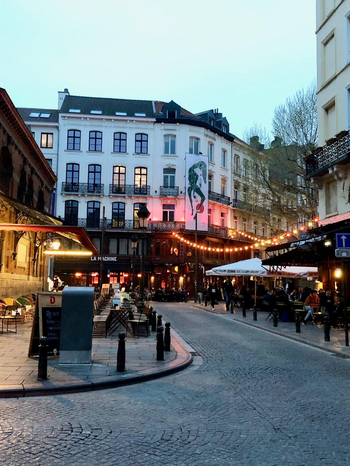 Brussels nightlife in spring 2019