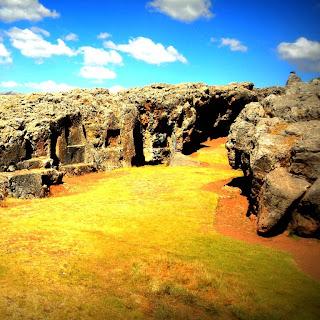 Grandes Rochas do Sítio Arqueológico de Qenko