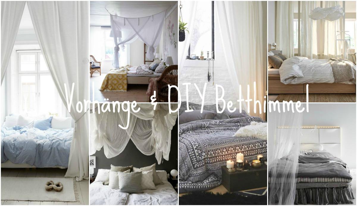 Verdunkelungsmöglichkeiten im Schlafzimmer - Verdunkelungsrollos und Betthimmel
