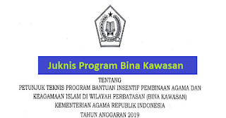 Juknis Program Bina Kawasan Kemenag Tahun 2019