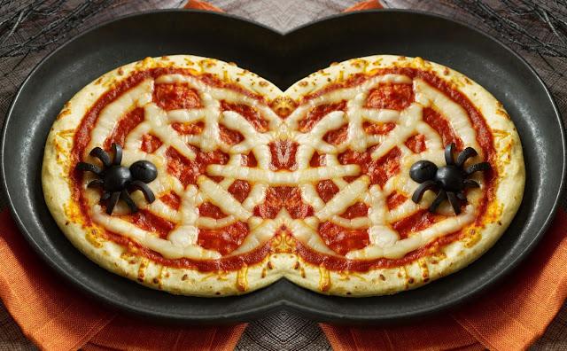 pizza-araña-halloween