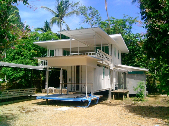 Shipping Container Home Design for Hot Climate, Thailand 1
