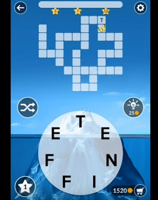 Wordscapes Daily Puzzle January 9 answers.
