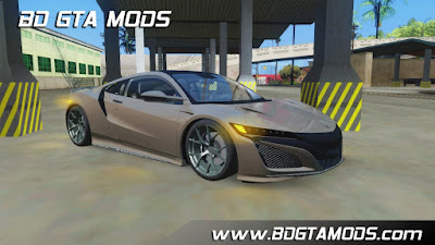Car mod Honda NSX 2017 ImvehFT for GTA San Andreas , GTA SA