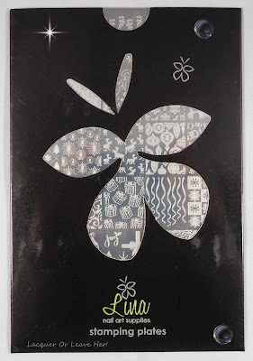Lina Nail Art Supplies stamping plates in their covers