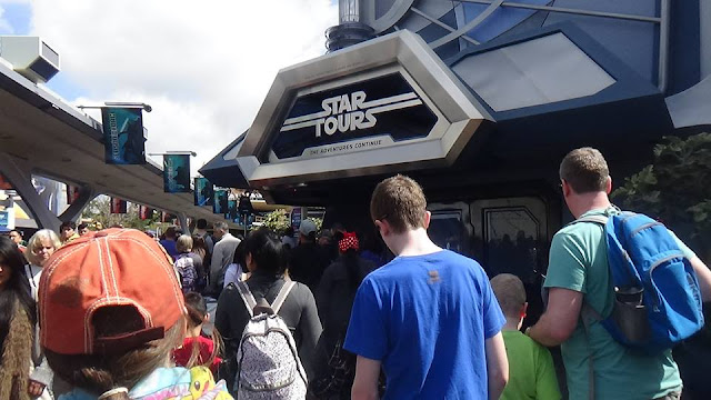 parc Disneyland Anaheim Star Wars