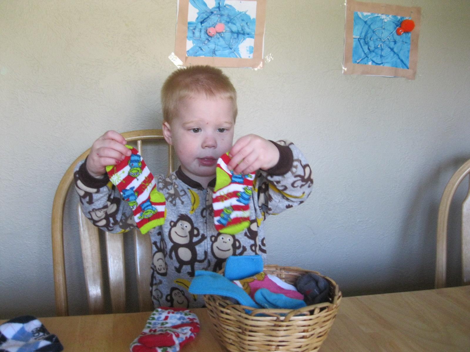 The Preschool Experiment Tot School Laundry