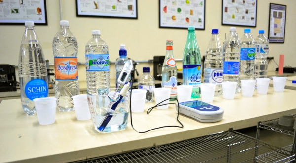 como é medido o Ph da água