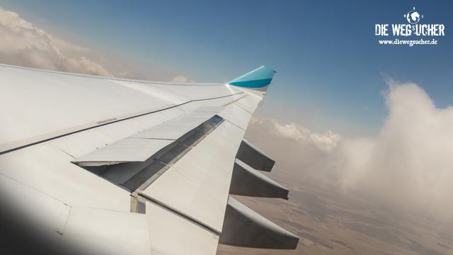 Wir fliegen über Afrika, die wegsucher arkadij und katja