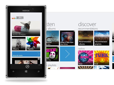 Deezer update for Windows Phone 8 brings new home screen and other features
