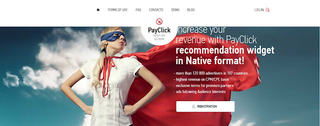 PayClick Native Ads