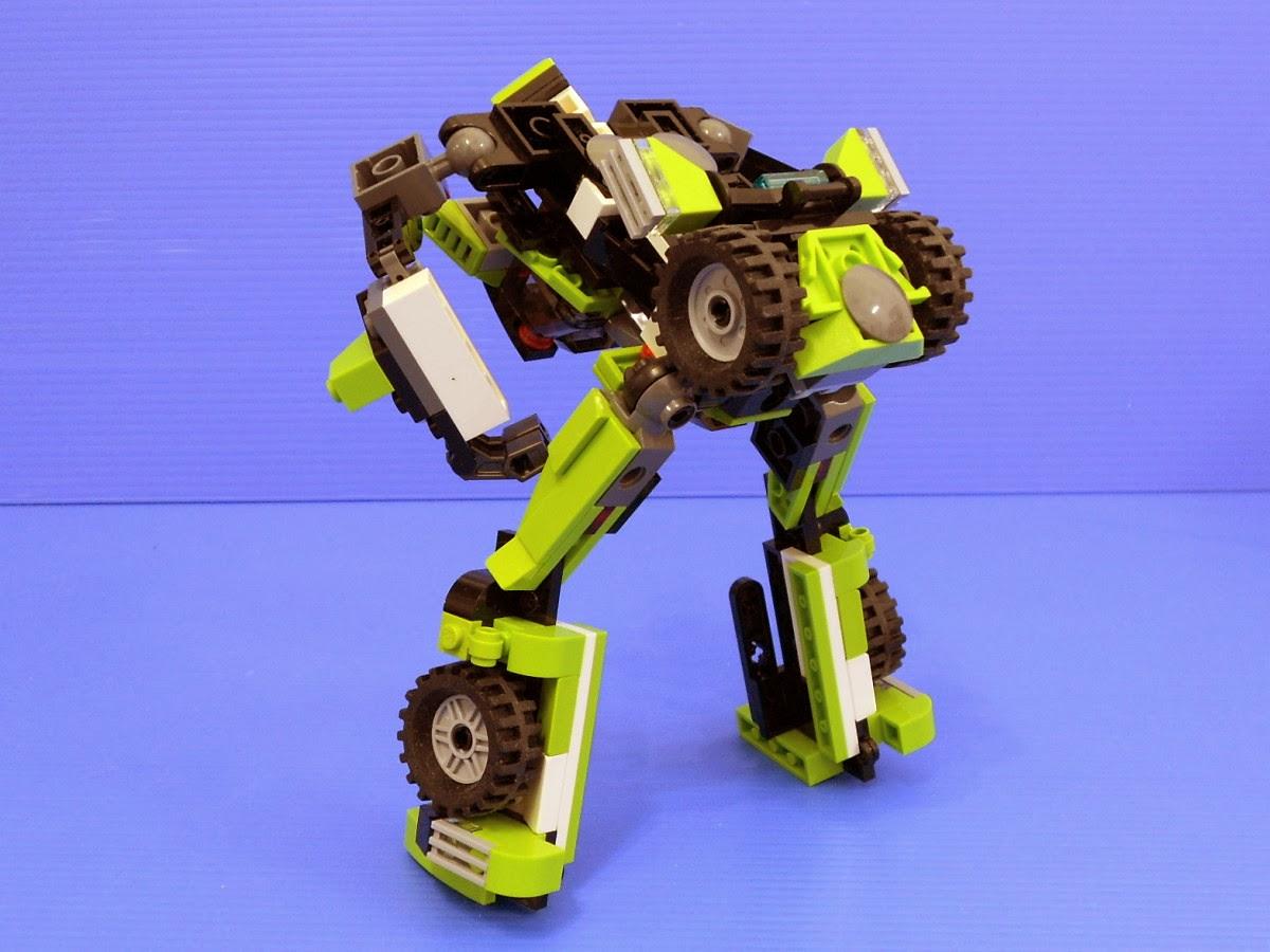 Alanyuppie's LEGO Transformers: LEGO 31007 Power Mech