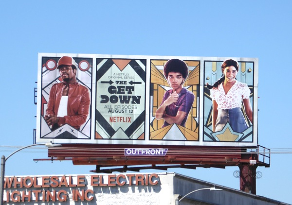 Get Down Netflix TV series billboard