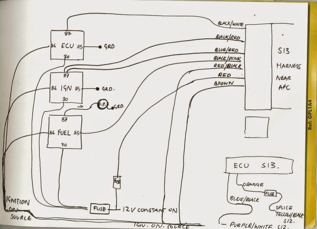 ca18det wiring diagram different types of relationships in uml diagrams to s12 ca series engines s12silvia