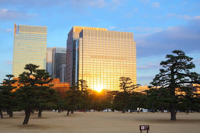 Path to Imperial Palace East Gardens Tokyo