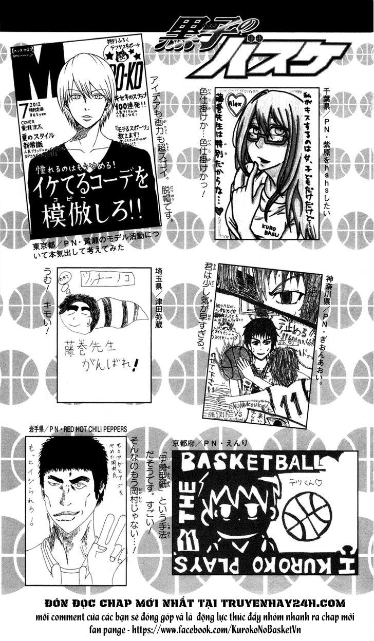 Kuroko No Basket bonus trang 9