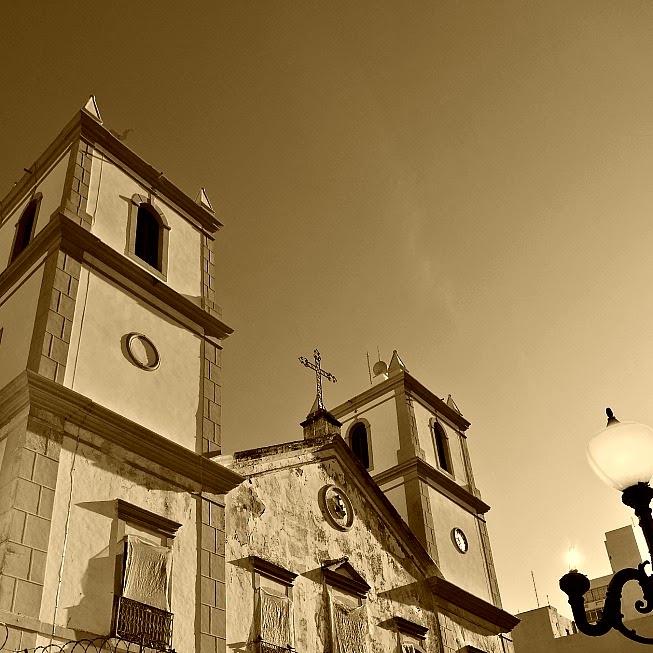 Igreja da Ordem Terceira de São Francisco, no Centro Histórico de Florianópolis