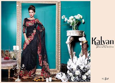 Kalyan chiffon summer dresses 2017 by ZS Textiles