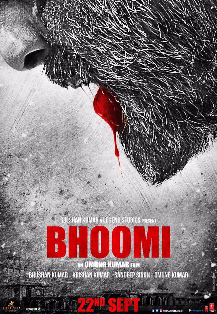Bhoomi First Look Poster