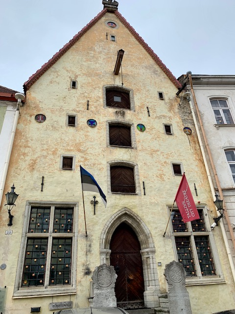 Merchants house and shop in Tallinn