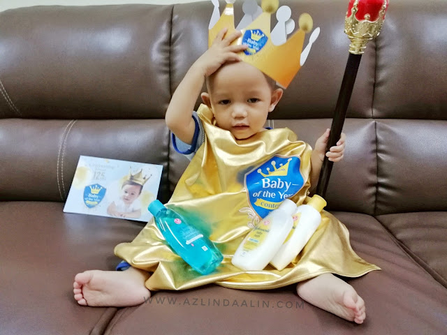 "Johnson's® Baby of the Year Contest 2018 yang bertemakan ""The Royal Celebration for Johnson's® 125 Years with Your Princes & Princesses""!"