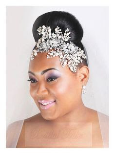 K'Mich Weddings - wedding planning - bridal headpiece - swarovski headpeice - esty