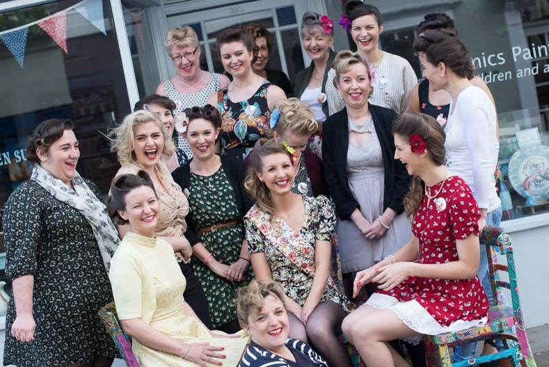 ef281cc59a1b0 ... hen party 1950s style, so where to begin? Decide ...