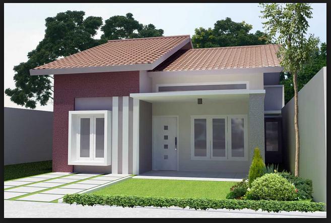 Model Desain Rumah Minimalis Modern Sederhana Elegan 2020