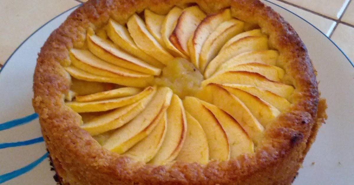 patouilles & mailles fines: gâteau façon tarte aux pommes