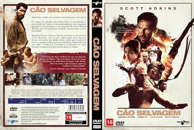 Capa DVD Cão Selvagem [Exclusiva]