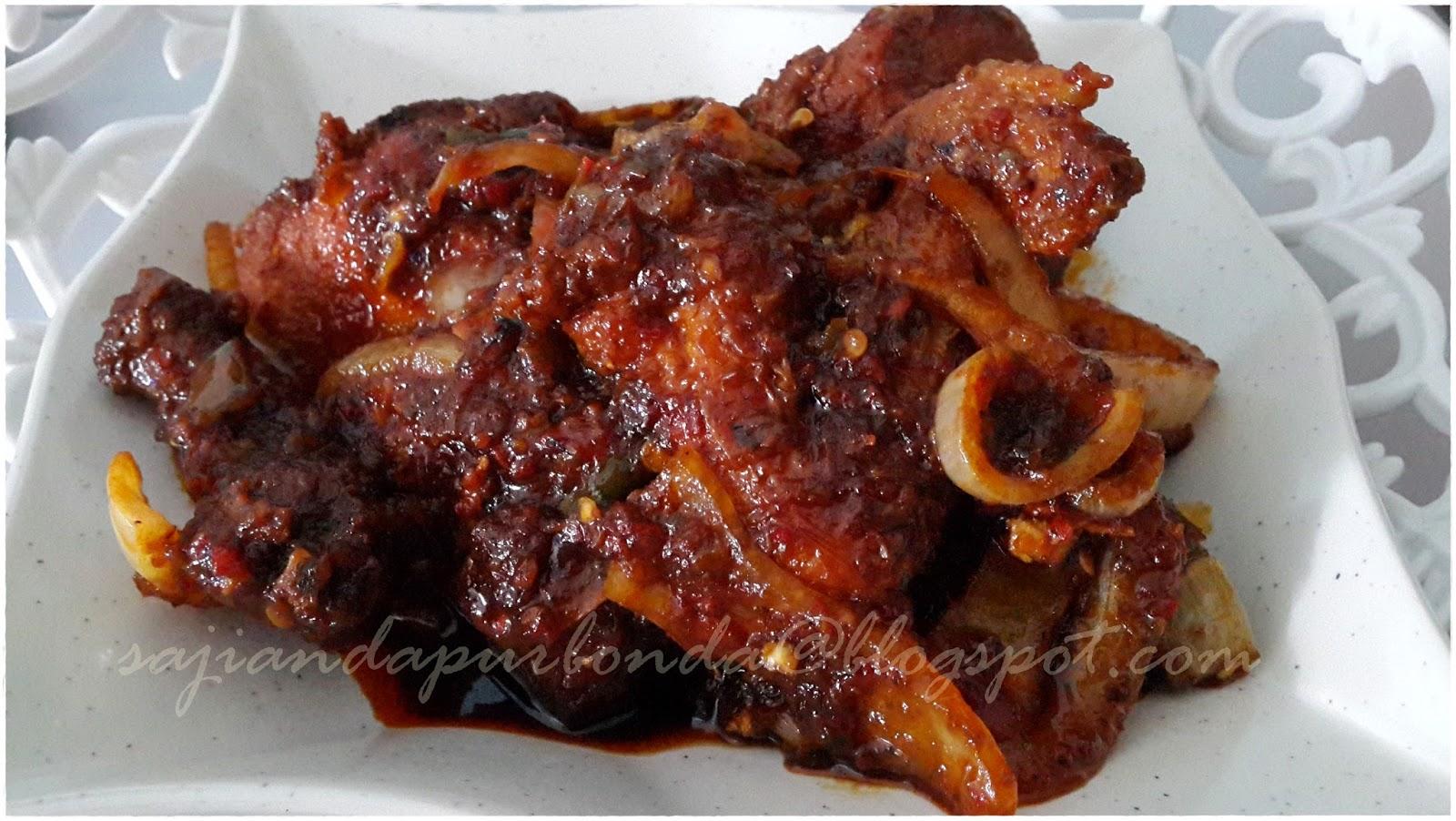 Kitchen Mak Tok (Sajian Dapur Bonda): Ayam Goreng Sambal Kicap Pedas