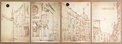 Canaletto:Basilica dei Santi Giovanni e Paolo, aVenezia.
