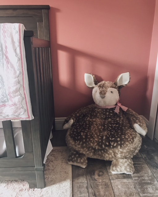 Faux Fawn Critter Chair From Pottery Barn Kids