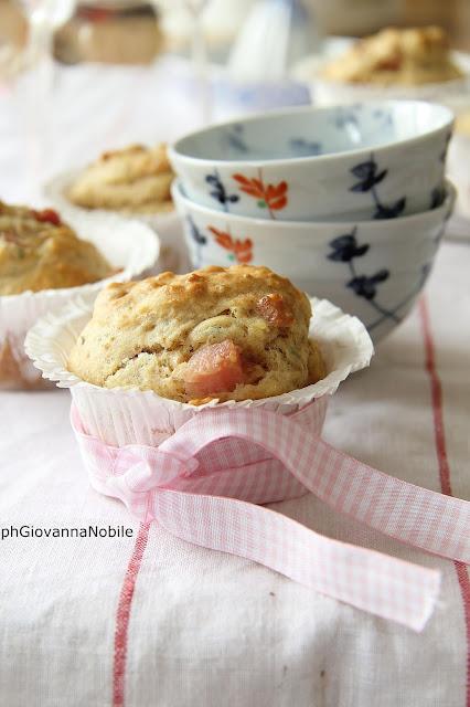 Muffin con prosciutto cotto Lenti & Lode ed erbe aromatiche