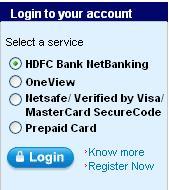 enet hdfc net banking