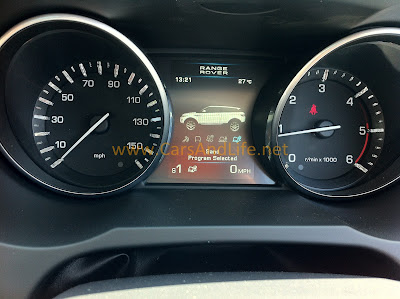 Range Rover Evoque Terrain Response