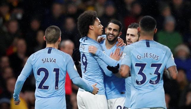 مباراة مانشستر سيتي وولفرهامتون  محرز اليوم 14-01-2019